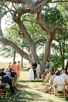 Outdoor Wedding Ceremony In Charleston SC