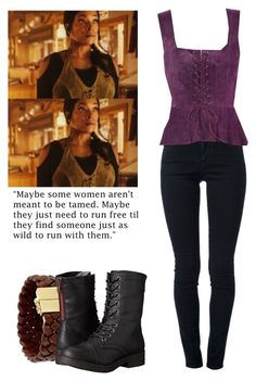 """""""Roberta Warren - Z Nation"""" by shadyannon ❤ liked on Polyvore featuring Cole Haan, STELLA McCARTNEY and Madden Girl"""