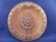 Eastern European carved wood dish
