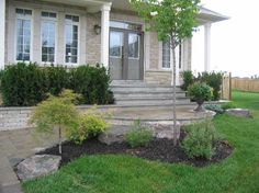 1000 images about landscaping ideas on pinterest front for Garden design ideas ontario