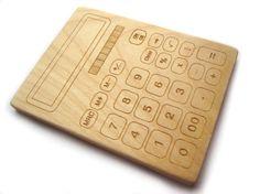 Calculator teether #etsy