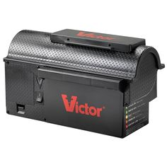 Victor Multi-Kill Electronic Mouse Trap The latest innovation in electronic rodent control, the Victor Multi-Kill Trap delivers a high-voltage shock to Electric Rat Trap, Rat Traps, Bees And Wasps, Mouse Traps, Pest Management, Humming Bird Feeders, Pest Control, Fleas, Home