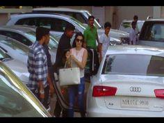 Ameesha Patel visits Galaxy Apartment to meet Salman Khan. Salman Khan, Meet, Photoshoot, Youtube, Photo Shoot, Photography, Youtube Movies