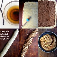 foodwanderings: Baking wIth Heritage: Vanilla Bean Brown Butter Cinnamon Swirl Challah by Parsley, Sage & Sweet