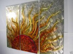 Sunshine Metal Wall Art