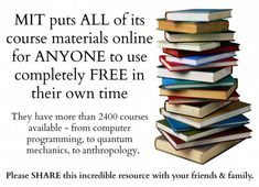 FREE Courses Homeschoolers Can Take online courses college classes Free Education, Education College, College Classes, Education System, Free Courses, Online Courses, Free College Courses Online, Nerd, Educational Websites