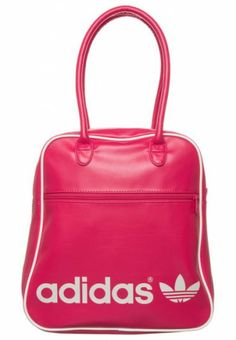 Pink adidas bag for your spring outfit.