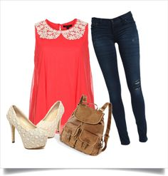 """""""School Day"""" by btowngirl16 on Polyvore"""