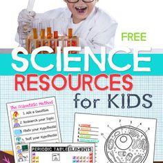 Free Homeschool Science Printables