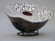 """... Double Walled Vessel Chocolate (Ceramic/ glazes) (22""""wide x 18"""" ..."""