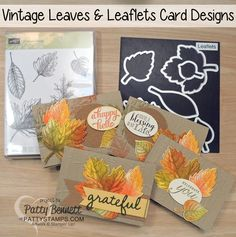 Vintage-leaves-stampin-up-4-cards-fall-pattystamps