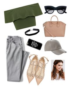 """Untitle #2"" by karimesar on Polyvore featuring moda, WearAll, Lands' End, Valentino, Miss Selfridge, Givenchy, Casetify y REGALROSE"