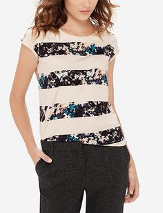 Floral Stripe Top from THELIMITED.com $27.96