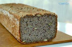 Ciast.Co: Chleb gryczany z ziarnami- idealny:) Raw Food Recipes, Gluten Free Recipes, My Recipes, Bread Recipes, Polish Recipes, Polish Food, Bread Baking, Baked Goods, Food To Make