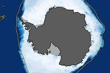 World of Change: Antarctic Sea Ice :  : Feature Articles : NASA Earth Observatory