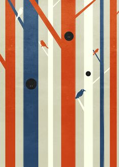 """Wall"" : Think Tank collection by Shout by alessandro gottardo, via Behance"