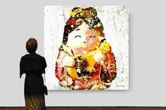 Benten 弁財天  É a única mulher do grupo. Simboliza a amabilidade e protege as artes e a beleza feminina. Ela é muito associada às águas do lago, do rio e do mar. É representa por uma mulher jovem com instrumento musical de cordas. Nos contos épicos japoneses muitos samurais lendários, deparam com Benten em momentos difíceis e dela recebem orientações. Possuir uma pintura ou estatueta desse deus garante saúde, beleza e desenvolve talentos artísticos.