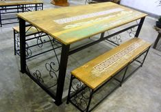 Wooden Dining Table Designs, Wooden Dining Chairs, Dining Bench, Wood Bed Design, Used Woodworking Tools, Wood Beds, Phone, Furniture, Home Decor
