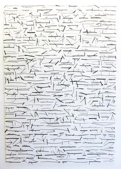 Larry Cressman - Asemic writing