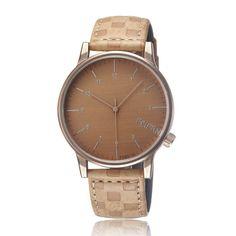 Ferzona Leather Analog Wristwatch