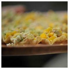 Chicken bites in a tortilla cup Italian Recipes | Paleo Recipes | Cindy's Table | Cindy Barbieri Anschutz #italian #recipes #foods