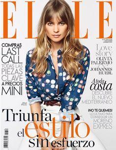 Behati Prinsloo for ELLE Spain - July 2015