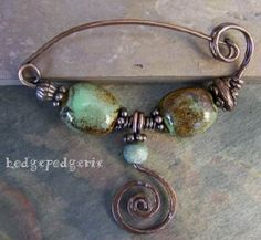 """Return from """"Scrumptious Scarf Pins Class"""" page to """"Wire & Metal Jewelry Classes"""" page."""