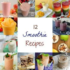 Simply Sweet Home: 12 Smoothie Recipes