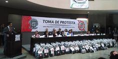 #ElMexicanoNoticias  Rinden protesta, niños funcionarios por un día  #Ensenada