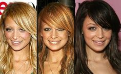 pictures of nicole richie hair | What is your favourite Nicole Richie hair colour?