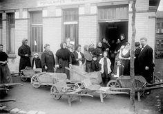 Crise du charbon à Pavillons-sous-Bois, Agence Rol, 1916