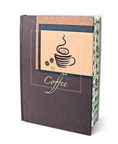 """""""Coffee and Tea Journal : B"""" - A passionate guide for preparing and tasting the perfect blend of coffee and tea, will tell you everything you ever wanted to know about that beloved cup."""