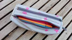 """1 Likes, 1 Comments - Nancy Pigné (@nini_couture_hm) on Instagram: """"Trousse zipzip de #sacotin avec un très beau tissu enduit de chez #fleurdesoleilcouture !"""""""