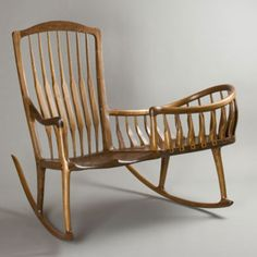 Beau Mother And Baby Rocking Chair/cradle Combo.