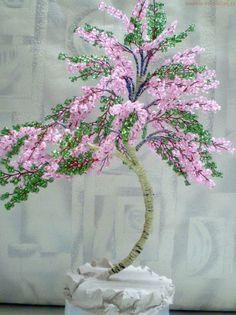 Мастер-класс по бисероплетению: Дерево