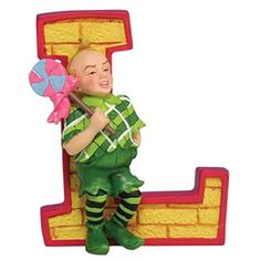 WL SSWL17012 Wizard of Oz Collectible Brick Letter L Figurine Yellow 3 -- See this great product.