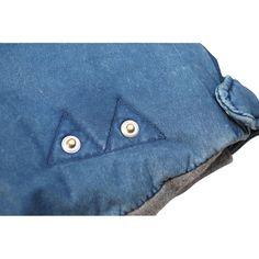 Westerlind - Leather Indigo Down Vest Outdoor Apparel, Down Vest, Continental Wallet, Indigo, Leather, Blue, Design, Fashion, Moda