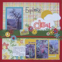 Explore Every Little Detail - Scrapbook.com