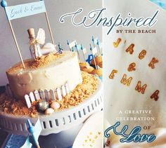 A+Romantic,+Beach-Inspired+Wedding+Theme