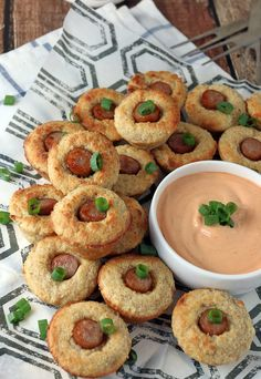 #Keto Corndog Muffins. Delightful morsels that are a great appetizer! Shared via http://www.ruled.me/
