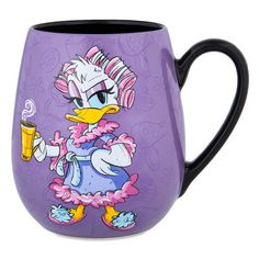 Disney Parks Daisy Bold and Sweet Just Like My Coffee Ceramic Mug New Microwave and dishwasher safe Ceramic New