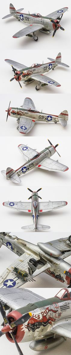 P-47 Thunderbolt 1/72 Scale by Korhan AKBAYTOGAN