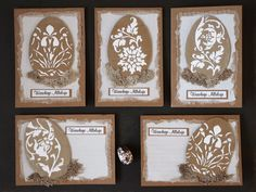 Handmade easter cards, eco cardmaking Scrapbooking Ideas, Cardmaking, Easter, Decorations, Frame, Cards, Handmade, Picture Frame, Hand Made