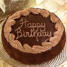 Write Name On Happy Birthday Wishes Chocolate Cake