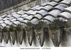 traditional chinese roof tile
