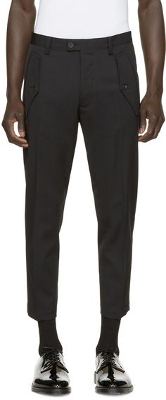 Dsquared2 - Black Hockney Military Trousers