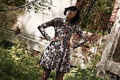 Ewa Macherowska - C&A Dress, Nn Fishnets, Nn Glasses, Vintage Ring - Retro Chic