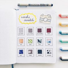 washi tape wallpaper Inspiration is part of Washi Tape Wall Decor Ideas - Happy Sunday everyone! 😊 Made a mini washi tape swatch in Polaroid theme My collection is quite small considering I bought my first one Bullet Journal Washi Tape, Bullet Journal 2020, Bullet Journal Junkies, Bullet Journal Inspiration, Journal Ideas, Bullet Journals, Washi Tape Wallpaper, Bujo Inspiration, Cute Journals