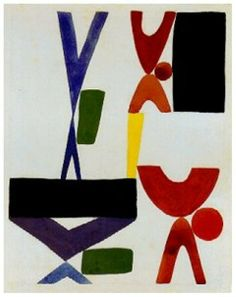 Sophie Tauber Arp. Swiss artist and a major figure in early abstract art.