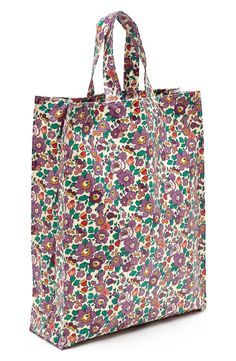 This playful, floral-printed Liberty of London tote is as versatile as it cute: it comes in handy at the Farmer's Market, to the mall, or just as an everyday bag.